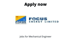 Focus Energy Limited is Hiring | Fresher-ITI Diesel/Fitter Mechanic, Electrician |