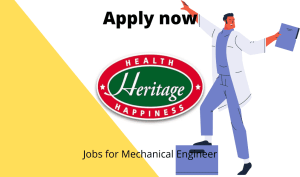 Heritage Foods is Hiring | Mechanical Maintenance Technician | ITI – Fitter |