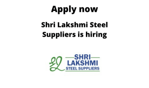 Shri Lakshmi Steel Supplier is hiring | Machine Operator (Attibelle) | ITI/ Diploma |