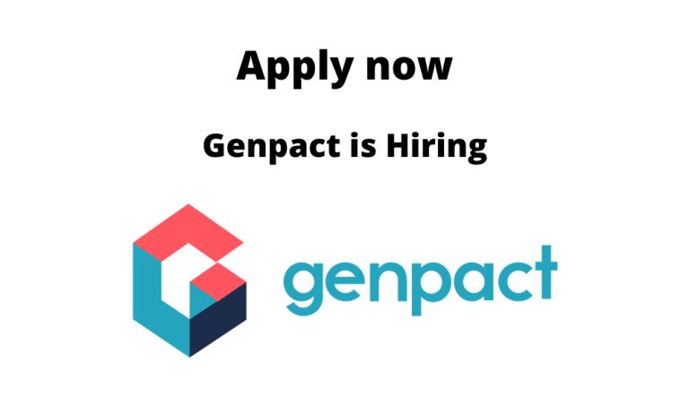 Genpact-is-hiring