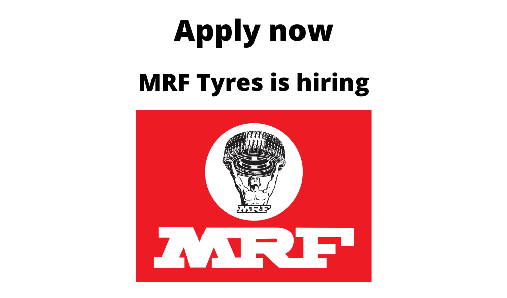 MRF Tyres is Hiring | Maintenance Engineer |