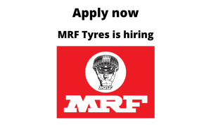 MRF Limited is Hiring | Mechanical Maintenance Engineer | Diploma/ Degree in Mechanical Engineering |