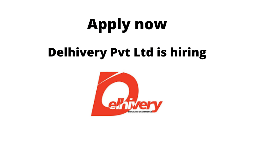 Delhivery Pvt Ltd is hiring | Freshers | Hub Executive – Sorter Operator | Diploma/ BE/ BTech in Mechanical/ Electrical |