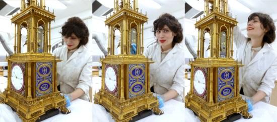 Angelsey Abbey's Pagoda Clock