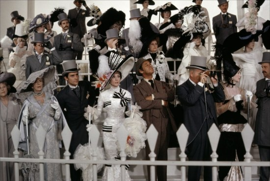 My Fair Lady, The movie race scene