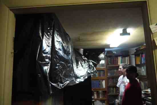 Trying to save the library