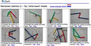 Whiteboard models TU-Delft