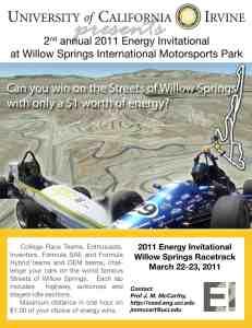 UCI Energy Invitational