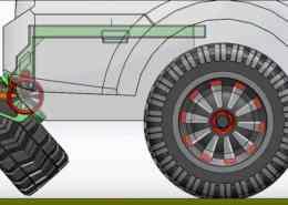 Spare Tire Linkage