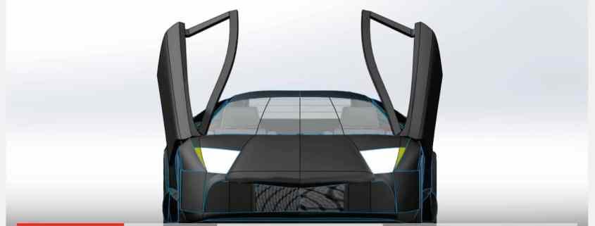 Spherical Car Door