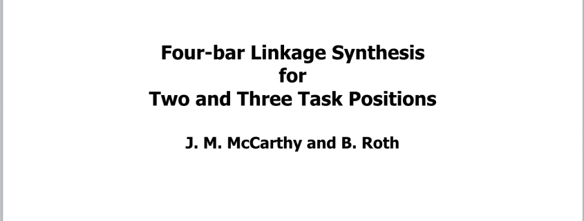 T2 Two and Three Position Synthesis