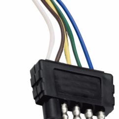 5 Pin Boat Trailer Wiring Diagram Rheem Air Handler Lights Brakes Routing Wires Connectors Connector