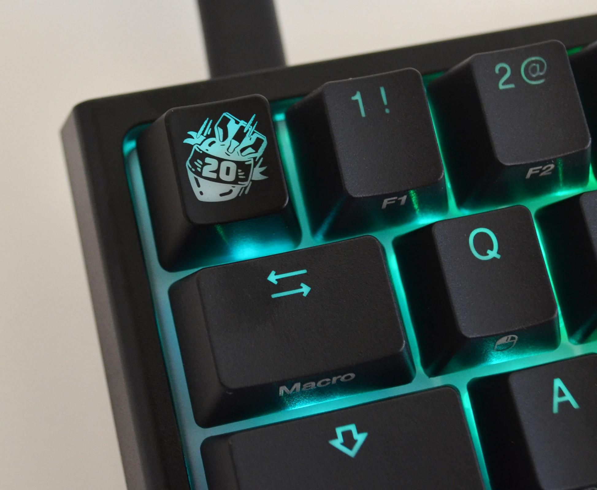 20 bomb keycap switch