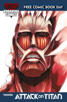 4. Kondansha Comics, Featuring: Attack on Titan