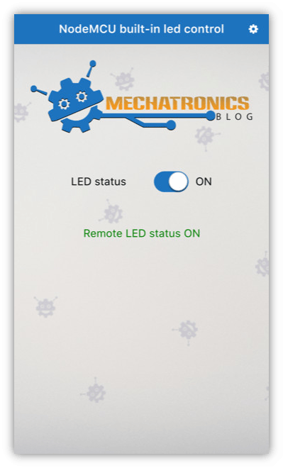 Getting started with ESP8266 NodeMCU remote control from