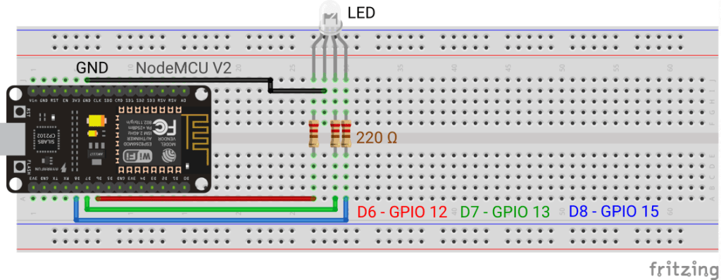 RGB LED sketch