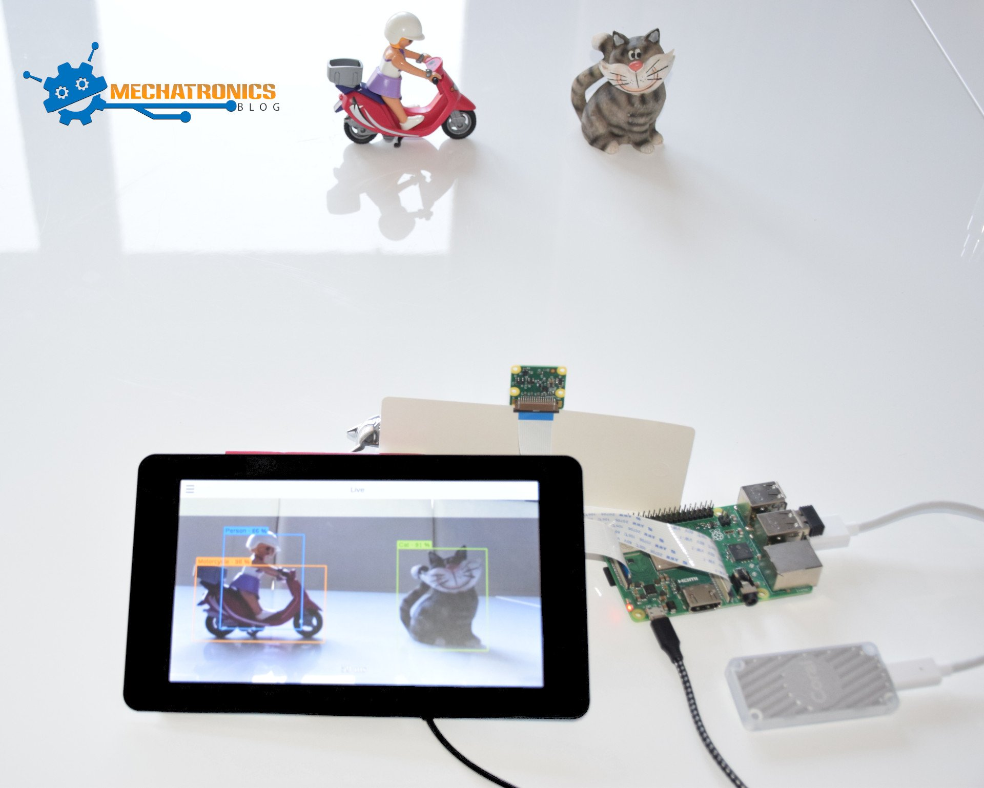 Coral USB Accelerator, TensorFlow Lite C++ API & Raspberry Pi for Edge TPU object detection