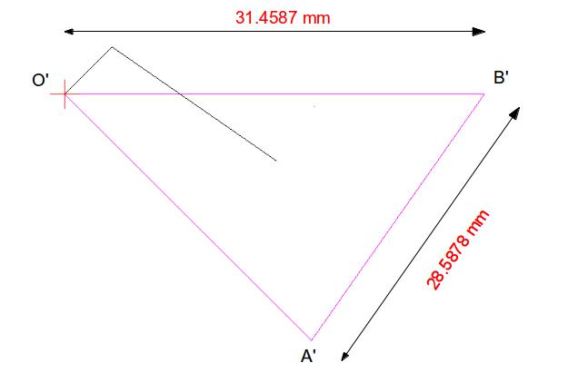 Drawing space and velocity vector diagram for four bar linkage mechanism calculation ccuart Choice Image