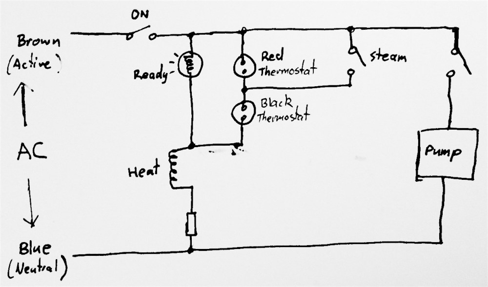 medium resolution of original wiring