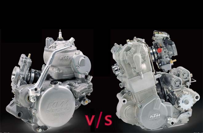 Differences, Advantages & Disadvantages of 4 stroke & 2 stroke engine