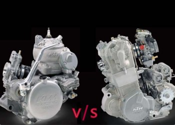 differences, advantages, disadvantages of 4 stroke and 2 stroke engine