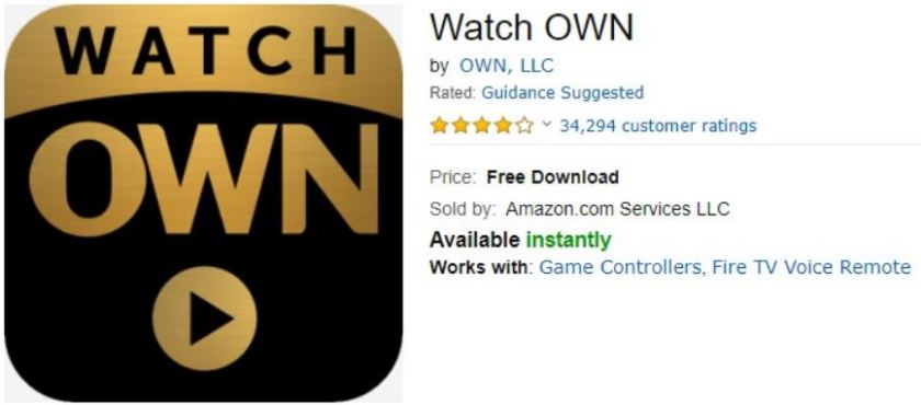 How to Get Watch OWN TV on Amazon Fire TV