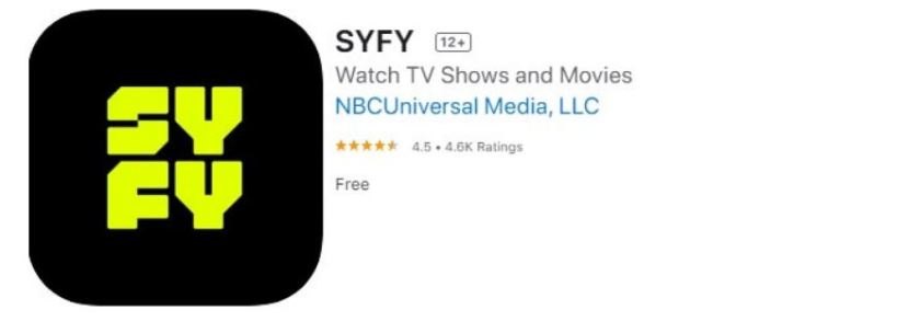 download syfy to apple tv