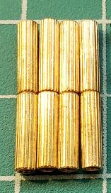 8x M2 12mm Standoffs