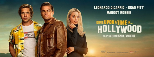 Risultati immagini per once upon a time in hollywood banner