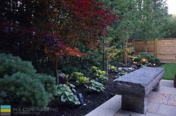 complete-landscaping-project-walkout-basement-firepit-interlocking 12