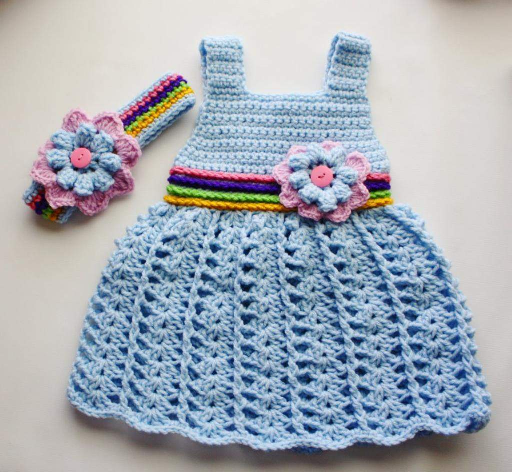 3 Cute Crochet Childrens Dress Patterns Luxury Reversible Crochet Ba Dress Pattern Pretty Pretty Ba