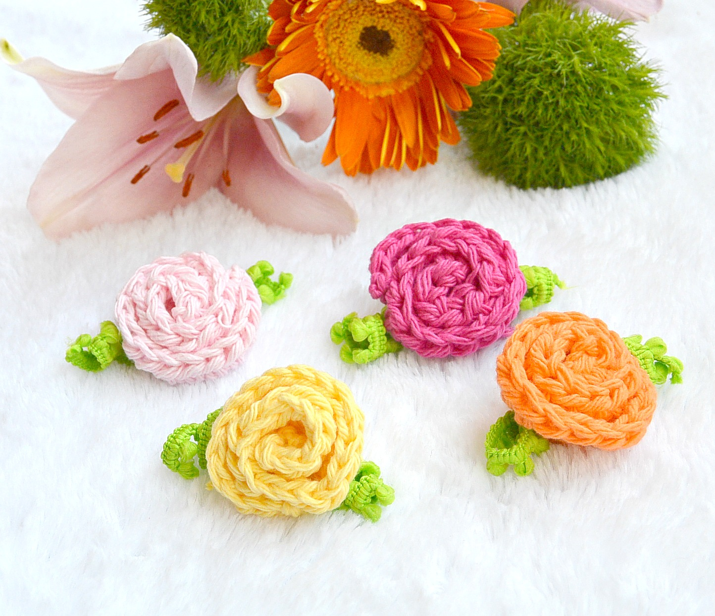 3 Inspirations of Easy Flower Crochet Pattern Sweet Daisies Free Flower Crochet Pattern Mama In A Stitch