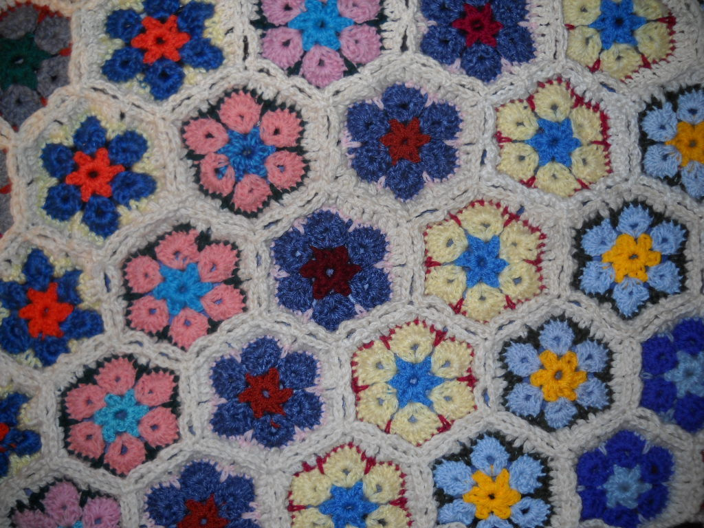 3 Magnificent Ideas of the Free Crochet Rose Afghan Pattern African Flower Blanket 5 Steps