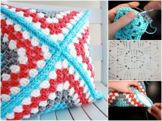 3 Recommended Designs of Crochet Patterns for Pillow Covers Pillow Cover Free Pattern Video Tutorial