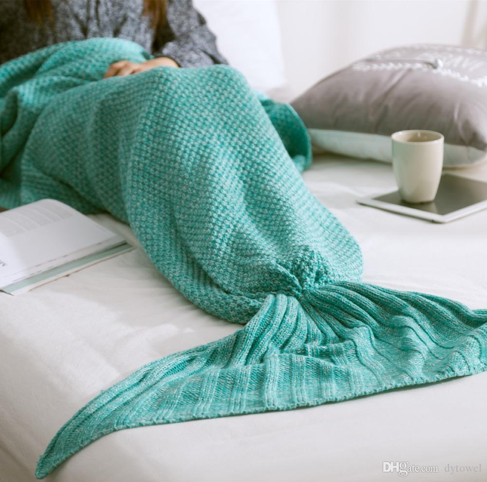 Amazing Crochet Mermaid Pattern for Baby's Mermaid Tail Ba Kids Adults Knitted Mermaid Tail Blanket Handmade Crochet