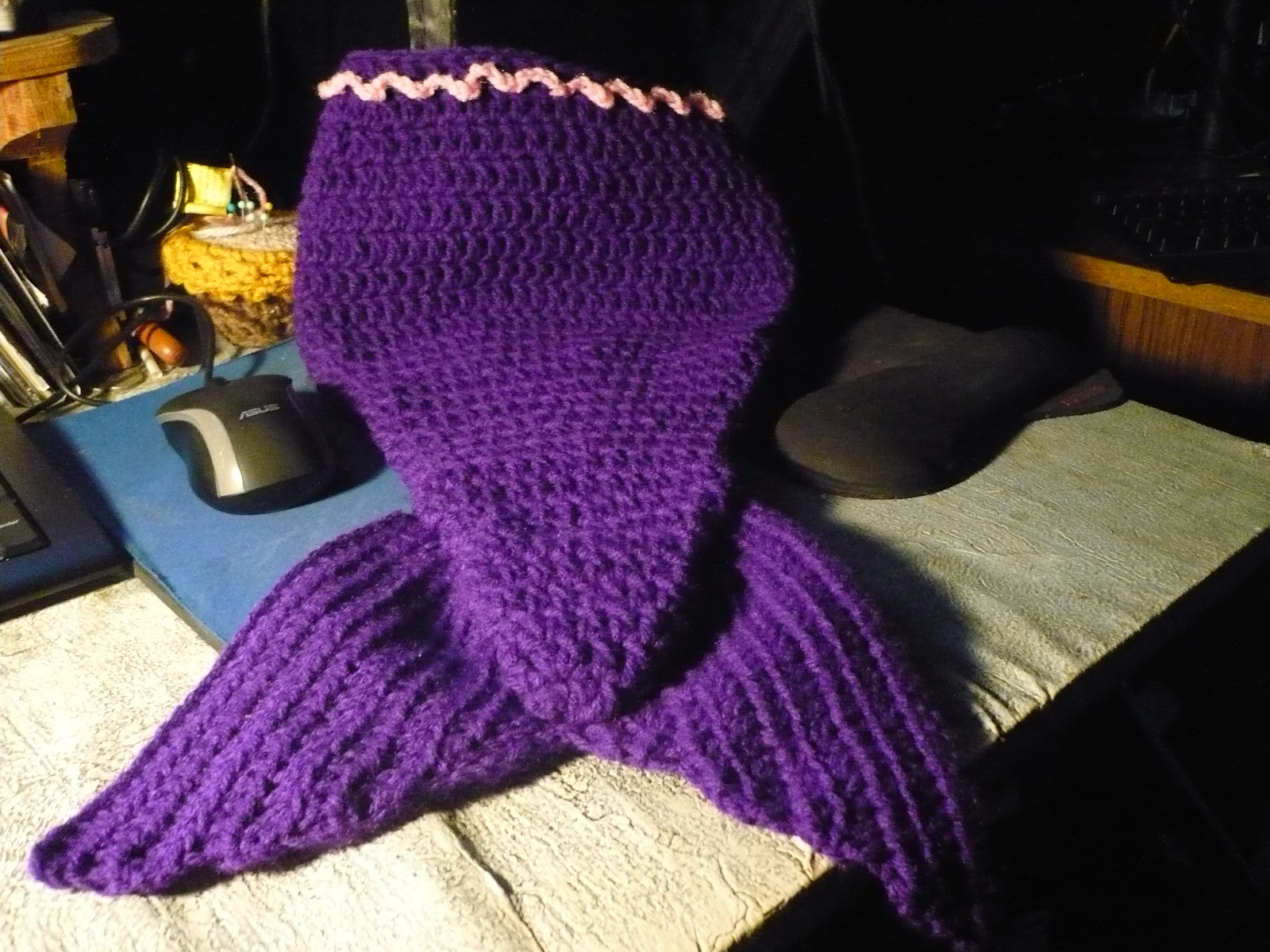 Amazing Crochet Mermaid Pattern for Baby's Mermaid Tail Stitches Crochet Mermaid Tail