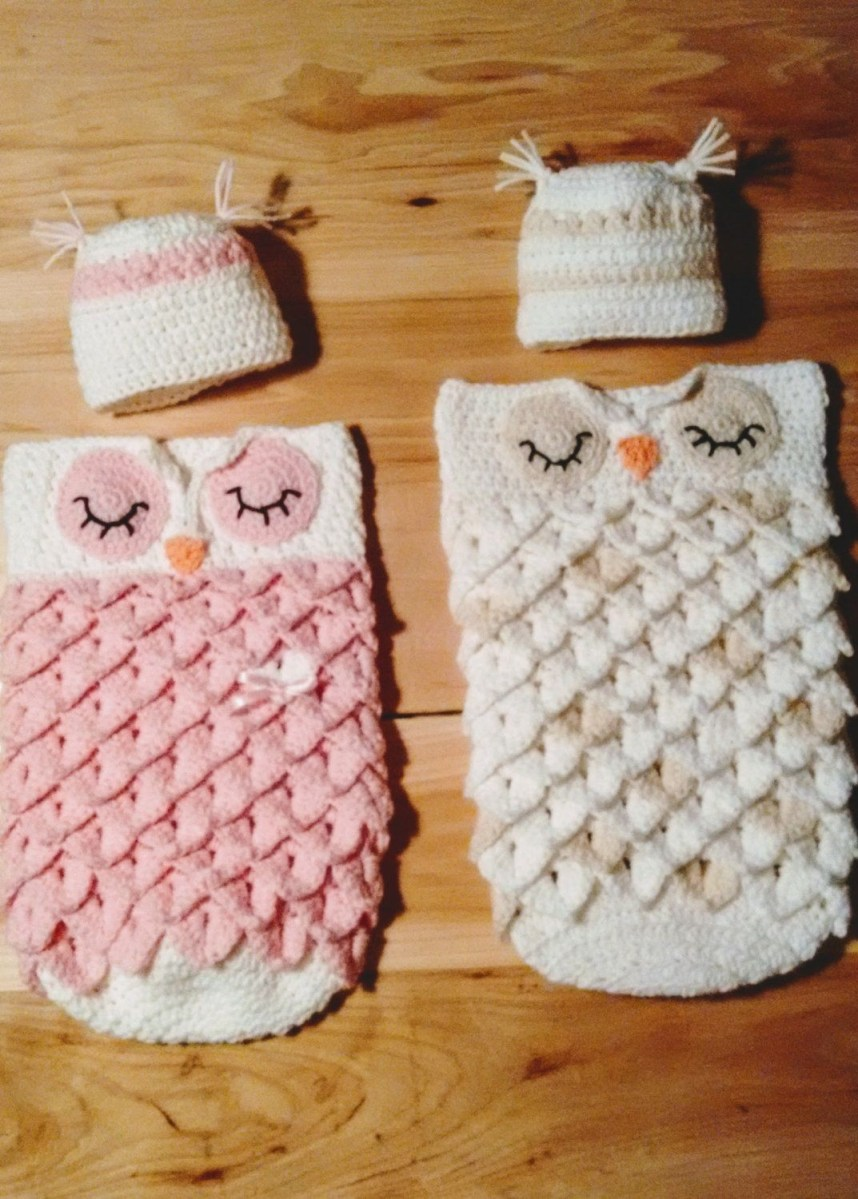 Crochet Cocoon Patterns For Newborns Crochet Patterns For Ba Cocoon Elegant Hand Crochet Owl Cocoon Set