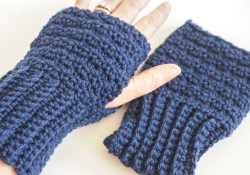 Crochet Fingerless Gloves Lemon Peel Fingerless Gloves Crochet Pattern Stitch11