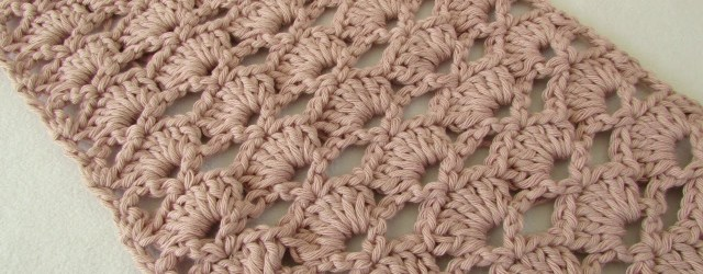Crochet Lace Scarf Pattern  How To Crochet An Easy Lace Scarf For Beginners Youtube