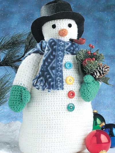 Crochet Pattern For Snowman Fun And Friendly Winter Snowman Crochet Patterns