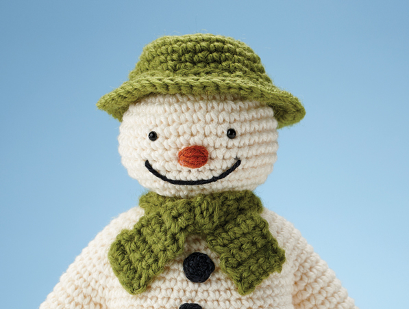 Crochet Pattern For Snowman The Snowman Archives Simply Crochet