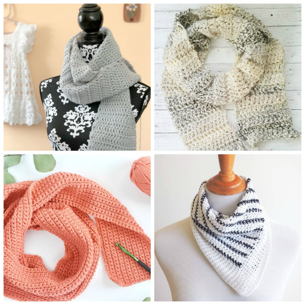 Easy Infinity Scarf Crochet Pattern  17 Easy Crochet Scarf Patterns Simply Collectible Crochet