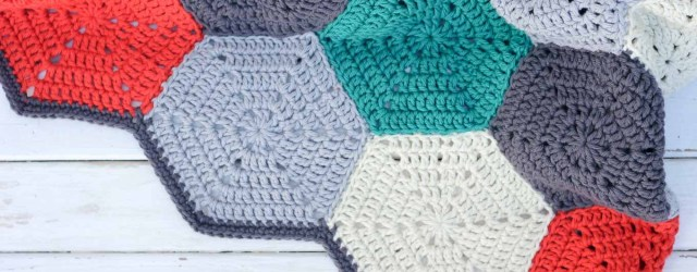 Free Crochet Afghan Patterns For Beginners Happy Hexagons Free Crochet Afghan Pattern Make Do Crew