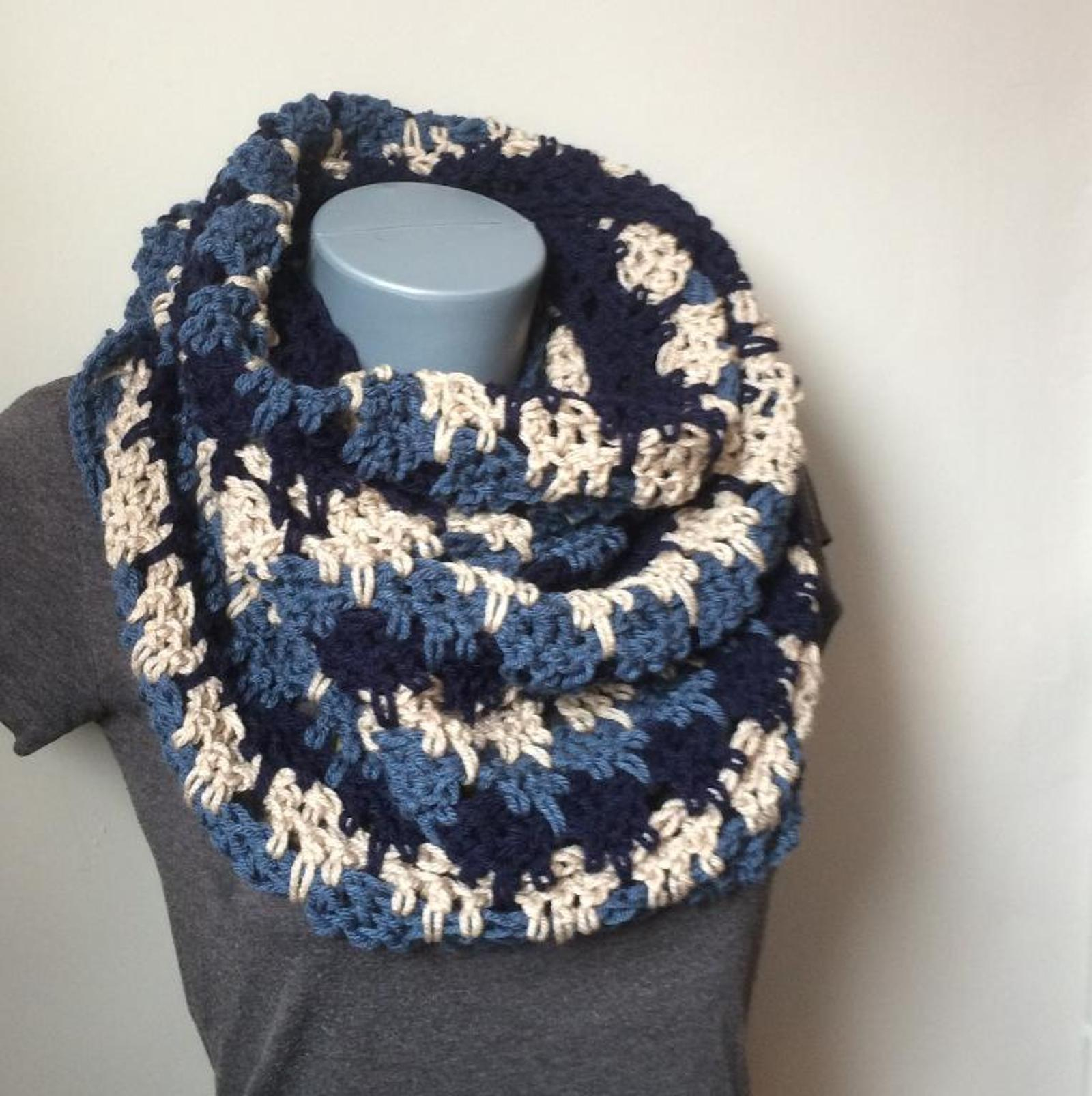 Free Infinity Scarf Crochet Pattern  5 Fab Free Crochet Infinity Scarf Patterns