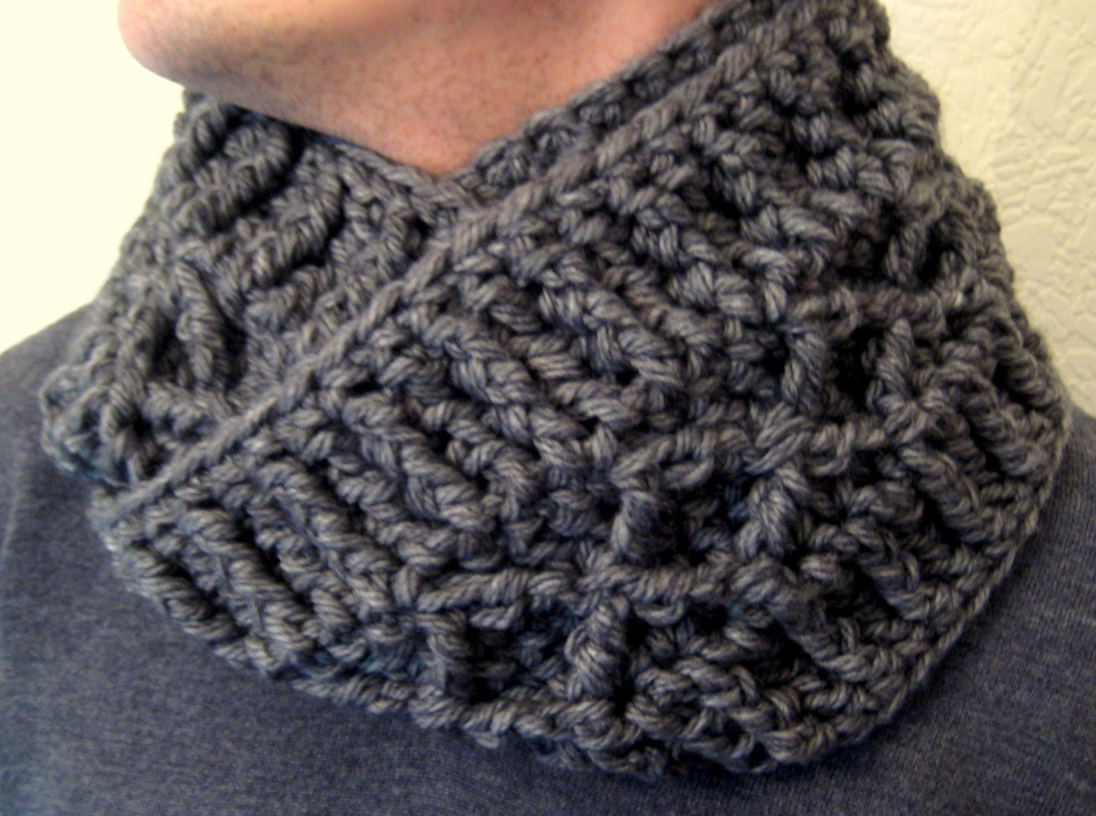 Free Infinity Scarf Crochet Pattern  Scarf And Cowl Patterns Make My Day Creative