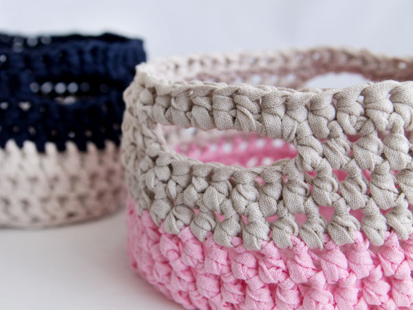 How To Make A Crochet Pattern How To Make A Crochet Basket