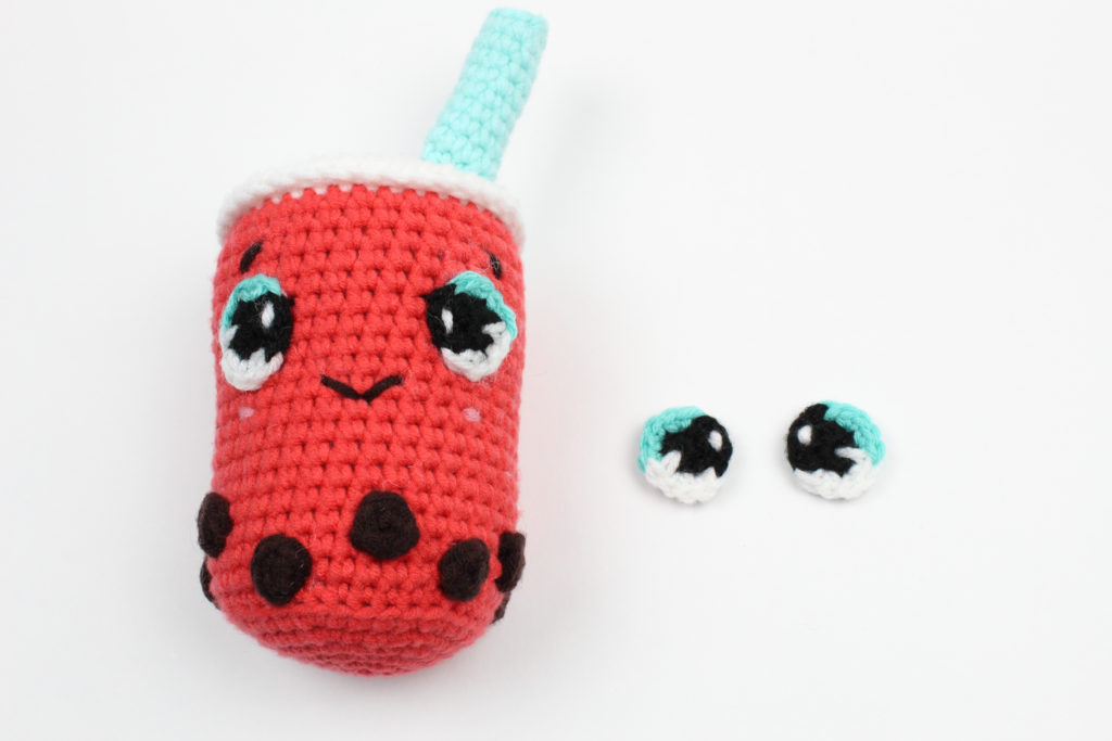 How To Make A Crochet Pattern How To Make Crochet Anime Eyes Knot Bad