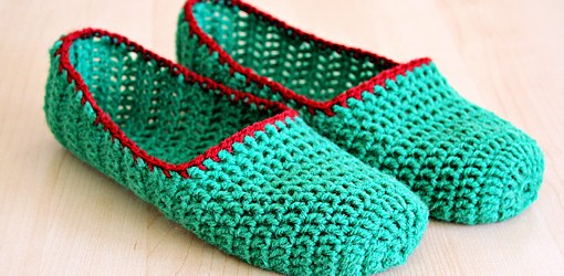 How To Make A Crochet Pattern How To Make Simple Crochet Slippers Crafts Zoom Yummy Crochet