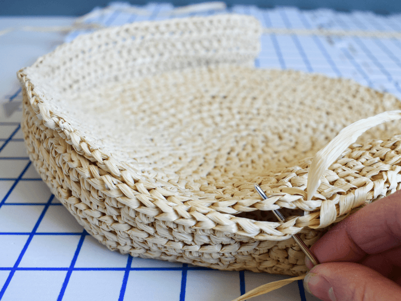 How To Make A Crochet Pattern The Best Crochet Bag Pattern To Make A Durable Raffia Tote
