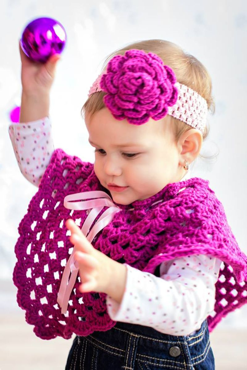 List of Free Crochet Patterns for Toddlers Ponchos Crochet Ba Ponchos Free Patterns Free Crochet Patterns